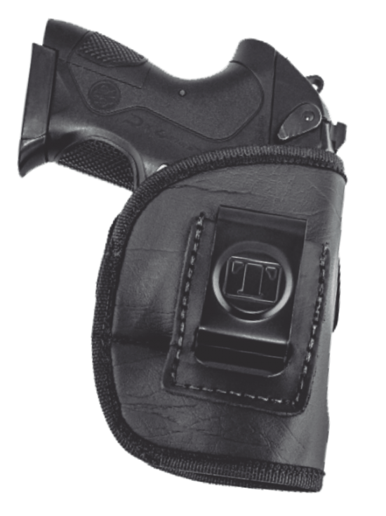 """Black Walther P22-34/"""" Tagua BH3-1030 Open Top Belt Holster Right Hand"""