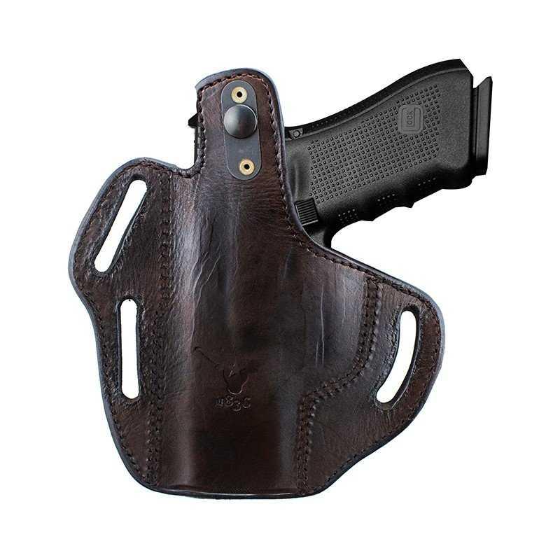 TX-3SLOTS-TB - TX-1836 Two way Thumb Break belt Holster