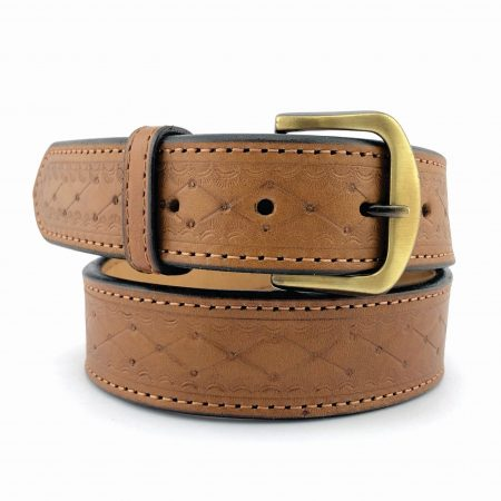 TX-WBEL-PAT - Texas Patterned Western Belt